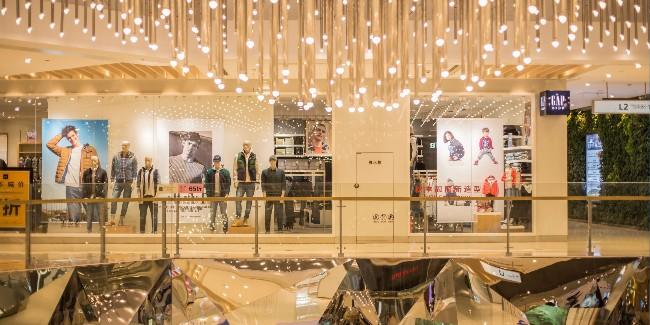 商业空间活动中的的香氛设备-香氛系统。