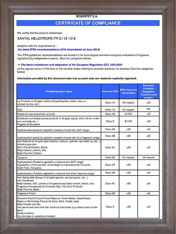 IFRA认证-7