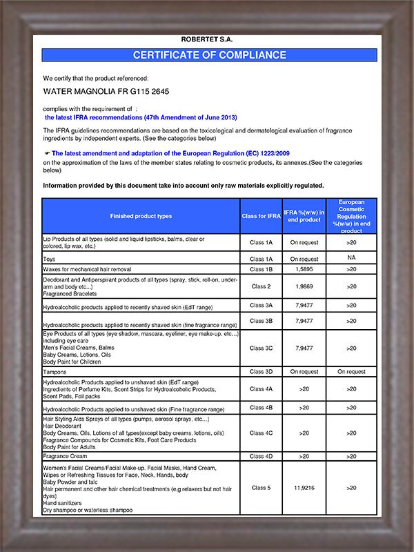 IFRA认证-10
