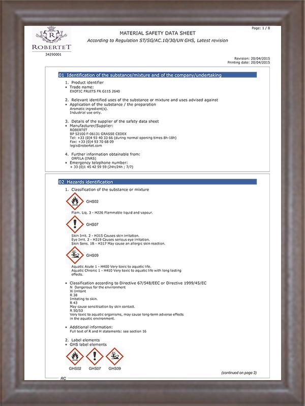 2014MSDS认证-2